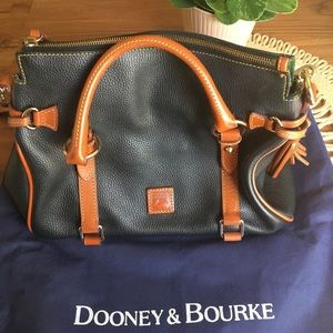Dooney & Bourke • Brown/ Black Small Satchel